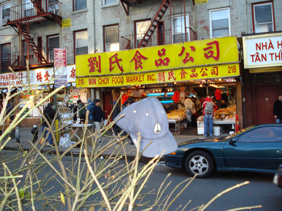 Chinatown New York. All the Way to Chinatown- New